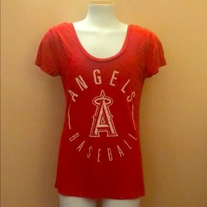 Victoria Secrets PINK Angels Baseball Shirt
